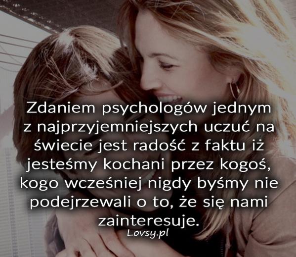 Zdaniem psychologów jednym z najprzyjemniejszych..