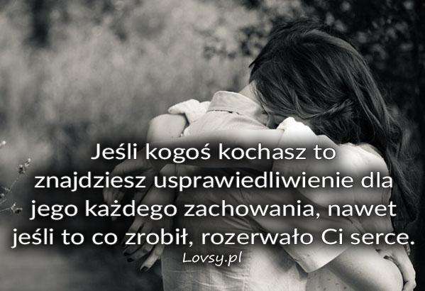 Jeśli kogoś kochasz to...